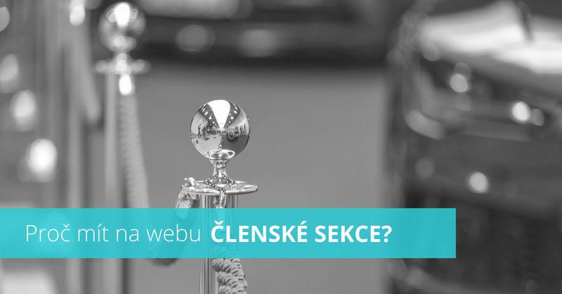 Kolik stojí a proč mít na webu členské sekce?